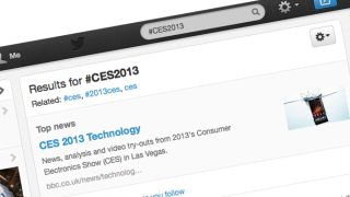 CES 2013 The Twitter eye view