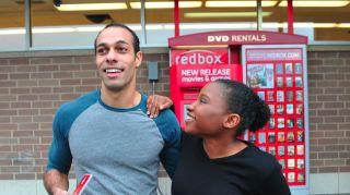 Couple at Redbox