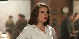 Agent Carter's Hayley Atwell Shares Ripped Back Photo Showing Off Mission: Impossible Transformation