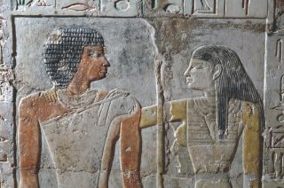 image from an ancient egyptian tomb.