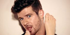 How Robin Thicke Paid Tribute To His Dad