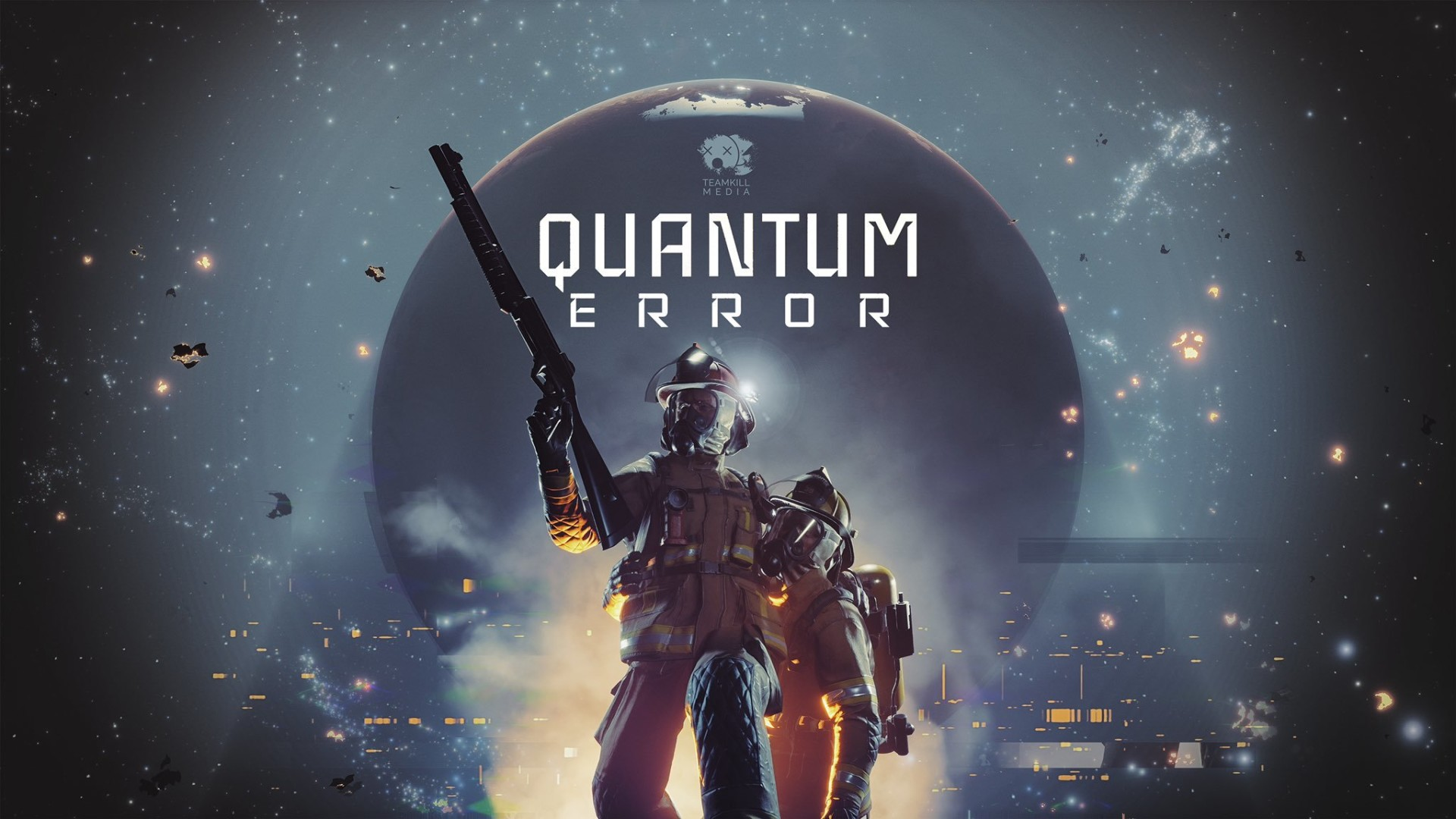 """New PS5 game Quantum Error is a """"cosmic horror shooter"""" with a ridiculously  ambitious physics engine 