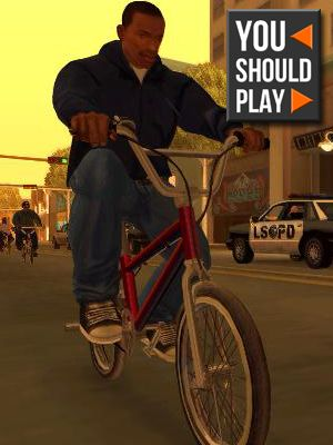 Want to experience actual grand theft auto? Play GTA: San Andreas!