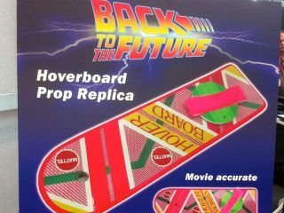 Mattel announces replica Back to the Future Hover Board