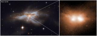 NGC 6240 galaxy