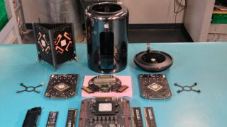 Mac Pro teardown with CPU upgrade