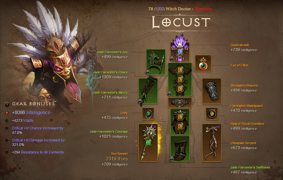 Diablo 3 player reaches Paragon level 1,000 in Hardcore | PC