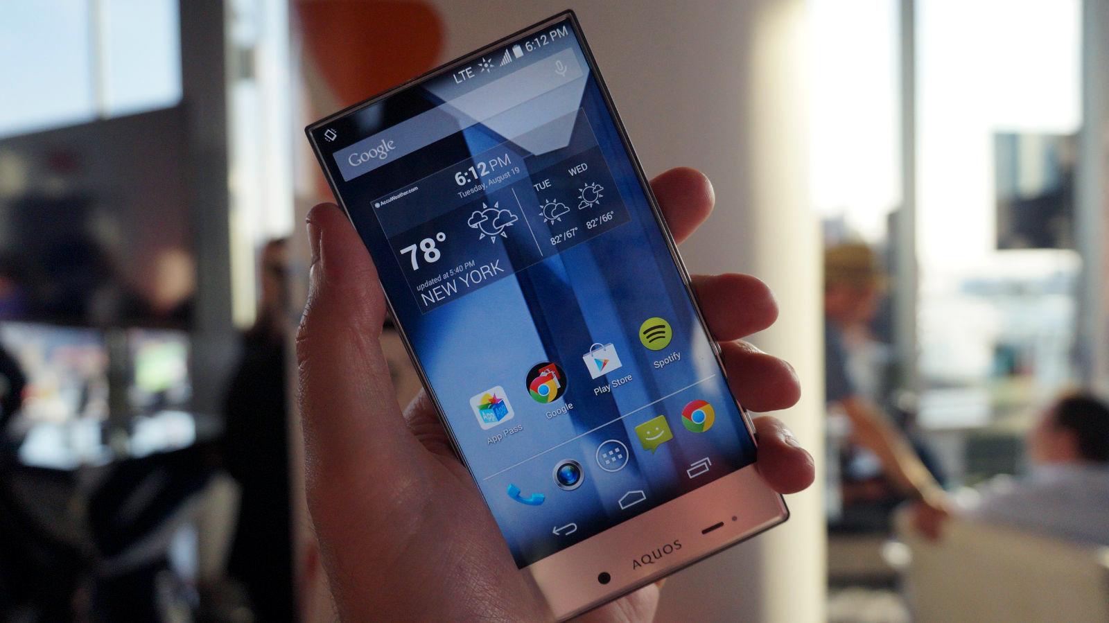 Hands on: Sharp Aquos Crystal review | TechRadar