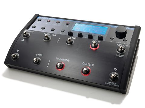 This stompbox can create dreamy harmonies for you, thanks to its real-time processing.