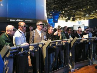 3D brought the crowds in at CES 2010