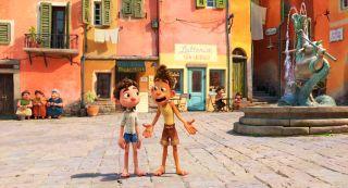 Luca and Alberto in Disney's 'Luca'.