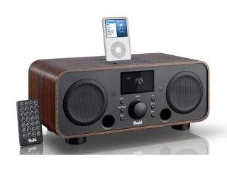 iTeufel Radio available in Wood Matt Black Gloss White and Powder Pink