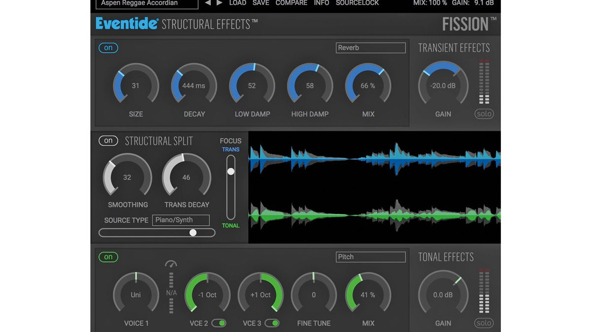 Eventide PHYSION Fission Transient Effects Plug-in Audio Software NEW