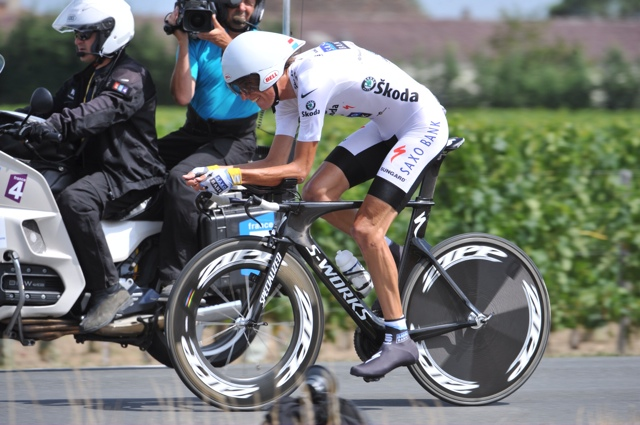 Andy Schleck, Tour de France 2010, stage 19 TT