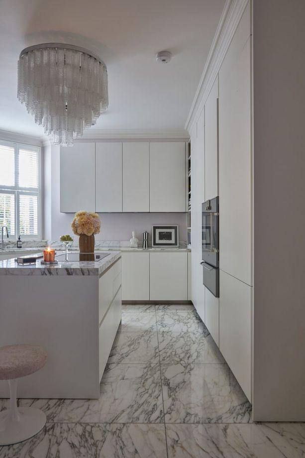 Chic Stylish And Modern White Kitchen Ideas