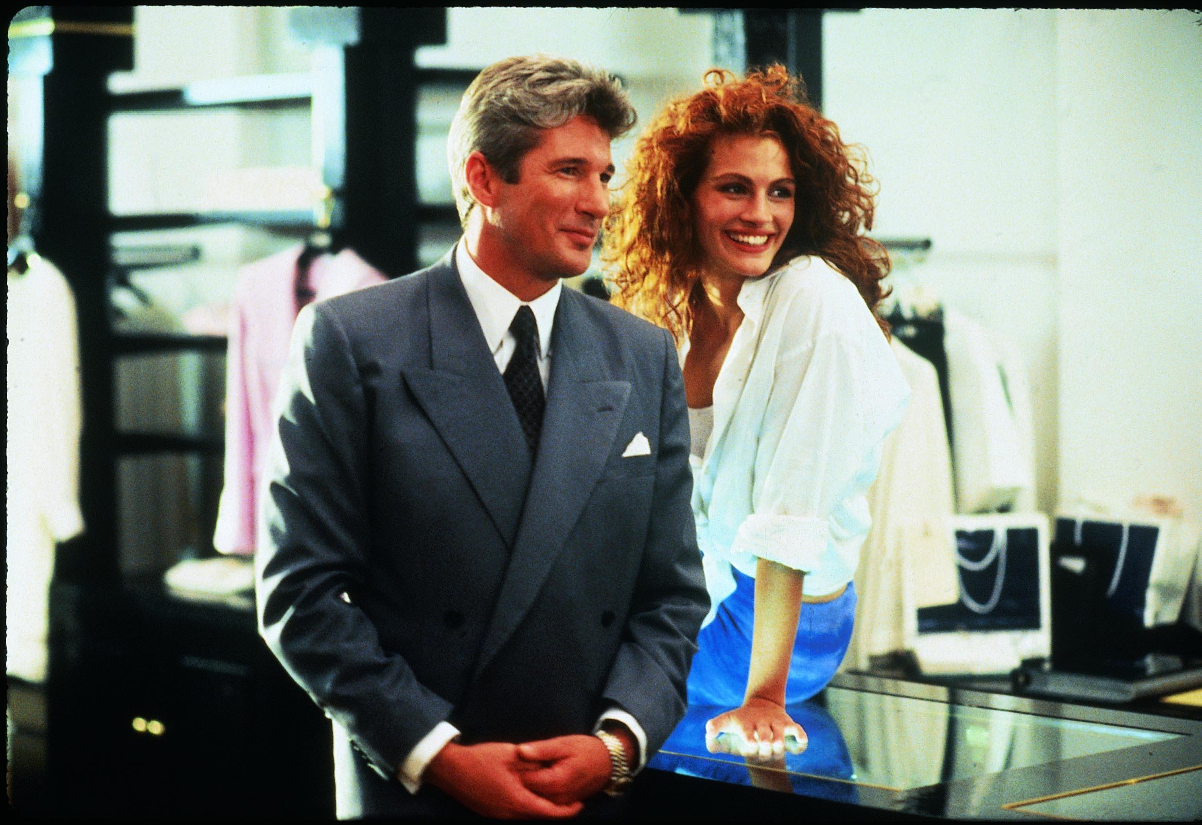 TV esta noche Pretty Woman Richard Gere y Julia Roberts