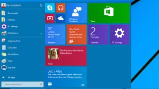 The new Start menu is here