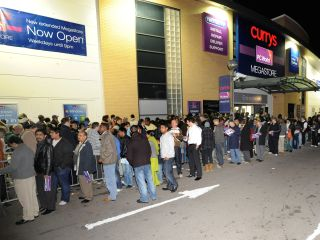 Fulham queue for megastore