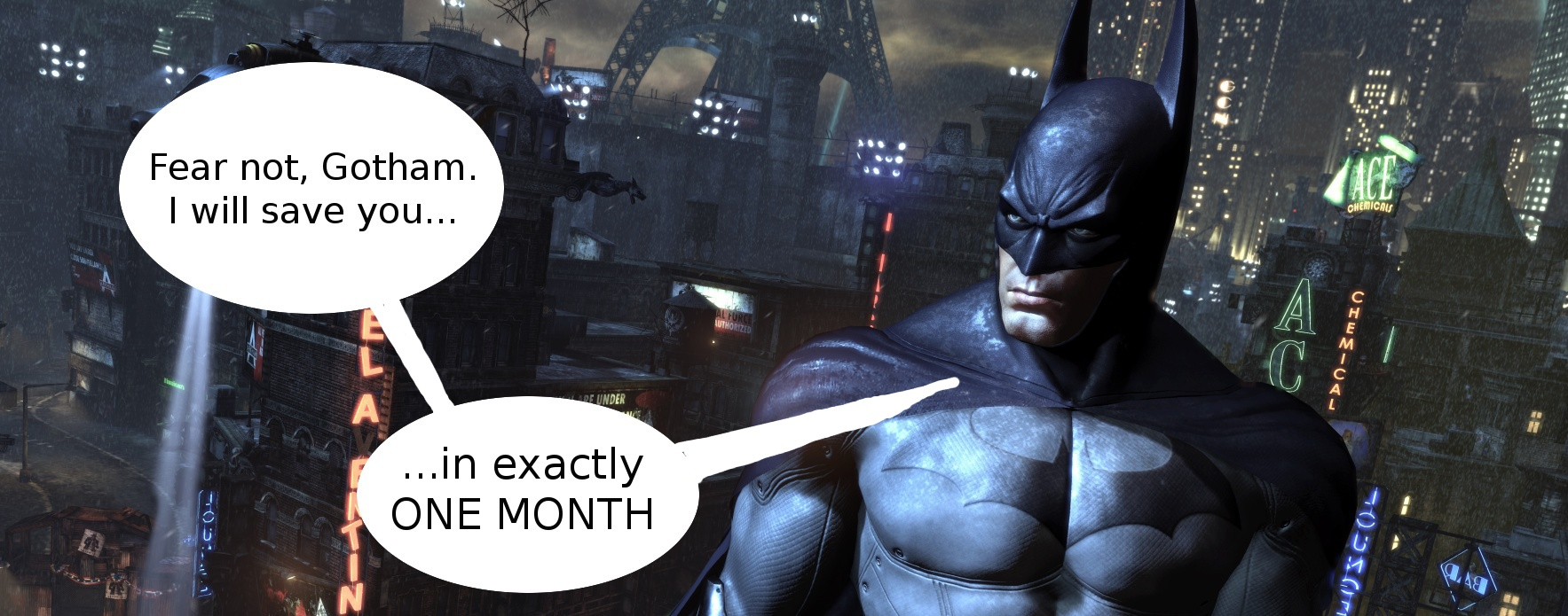 Batman: Arkham City PC release date set for November 18, new ...