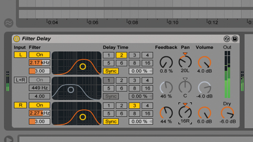 How to use delay processing creatively on your drums