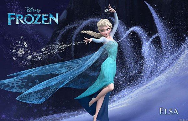 Frozen Character Poster Elsa