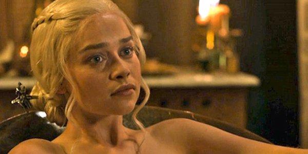 Game of Thrones Emilia clarke In Bath