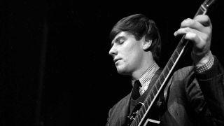 Hilton Valentine onstage in 1964