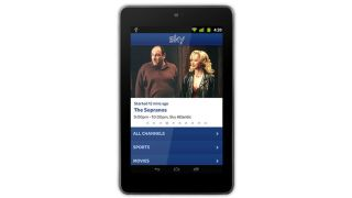 Sky Go for Android tablets delayed until December 3