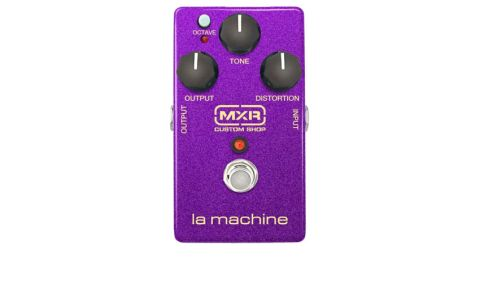 Given Purple Haze contains one of the best known octave-fuzz tones, La Machine's colour is appropriate