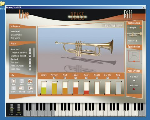 Arturia Brass: a virtual trumpet, saxophone and trombone all in one!