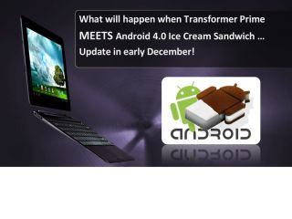 Asus Eee Pad Transformer Prime ICS update coming December?