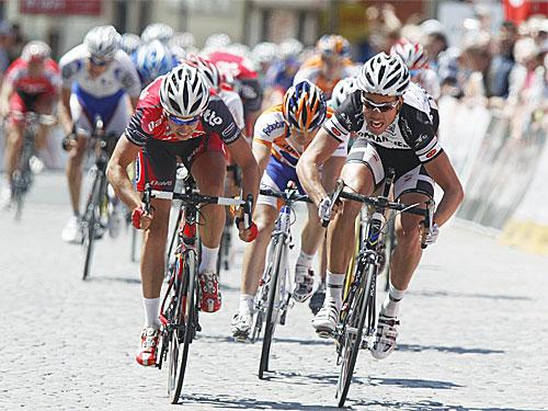 Adam Blythe winning at the Thuringen Rundfahrt