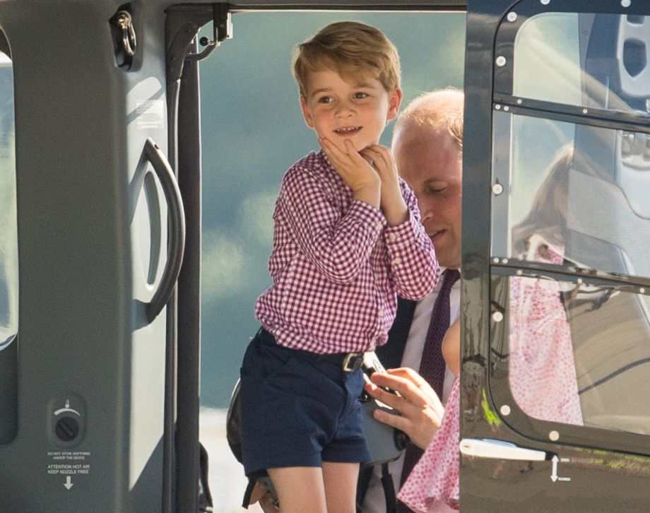 The adorable way Prince George spends quality time with grandma Carole Middleton