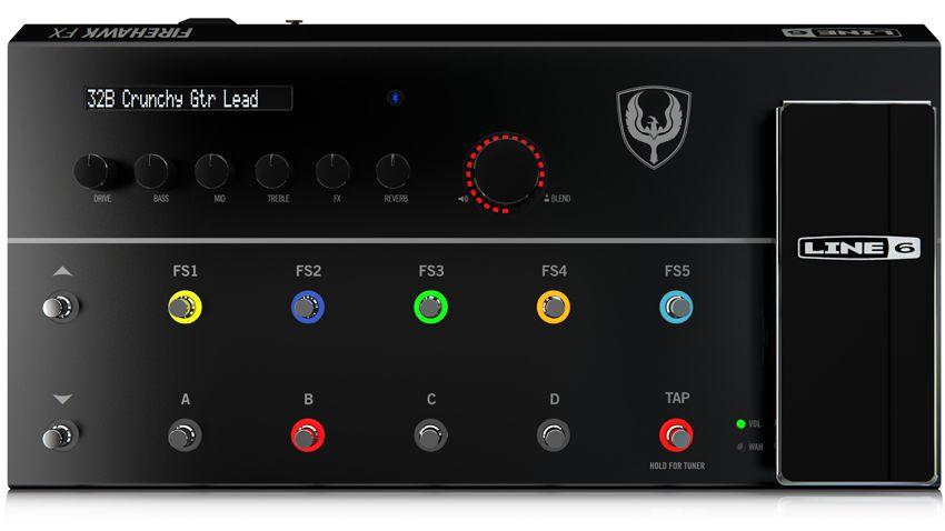 namm 2015 line 6 unveils the firehawk fx multi effect guitar processor musicradar. Black Bedroom Furniture Sets. Home Design Ideas