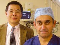 Professor Lord Ara Darzi and Professor Guang-Zhong Yang from Imperial College Robotic Research Center
