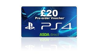 Throw down 20 and make sure you get a Sony PS4 as Asda opens UK pre orders