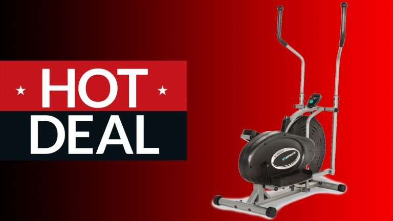 Walmart's selling an Exerpeutic elliptical machine on sale for just $100.