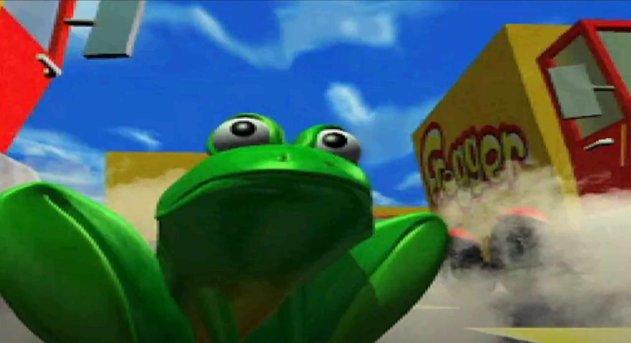 Konami is making a Frogger game show for people really good at crossing busy streets