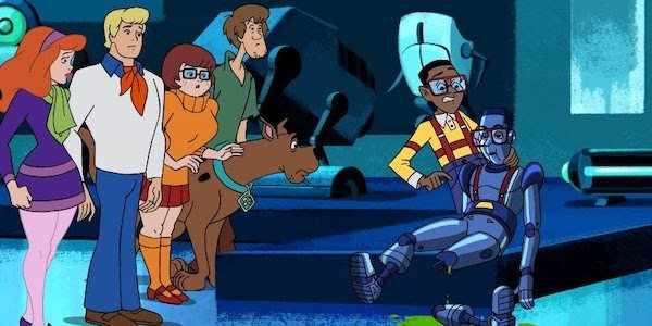 Mystery Inc. meets Steve Urkel (Jaleel White) in Scooby-Doo and Guess Who?