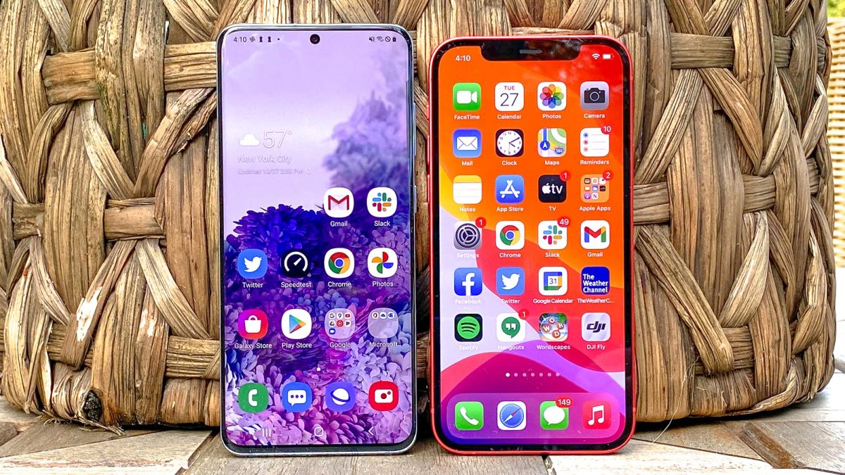 iPhone 12 vs. Samsung Galaxy 20: Which phone wins?