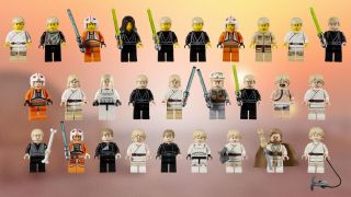 Lego 'Star Wars' Minifigures Through the Years in Photos