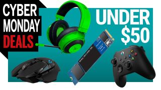 Cyber Monday PC gaming deals under $50