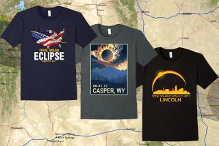 Totally Awesome T-Shirts to Remember the 2017 Solar Eclipse