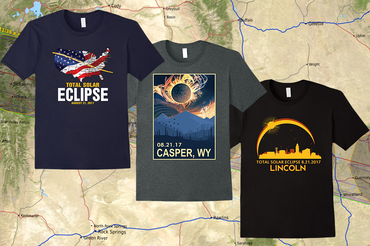 Totally Awesome T Shirts To Remember The 2017 Solar Eclipse Space