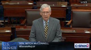 U.S. Sen Mitch McConnell of Kentucky.