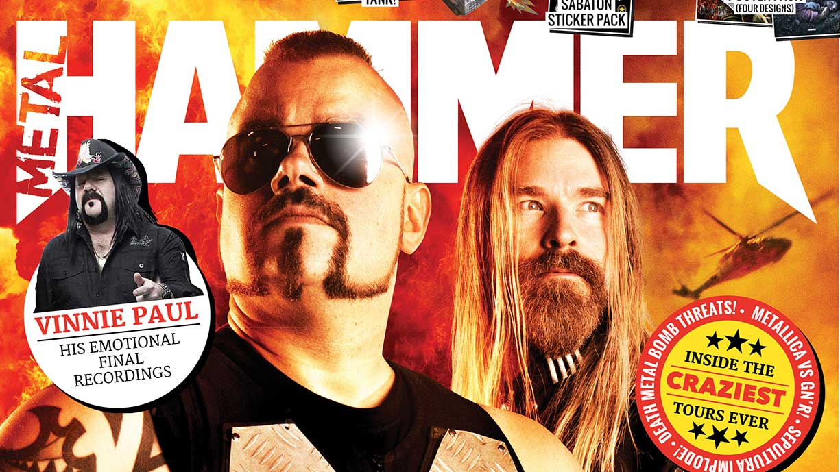 The new Metal Hammer comes with a free tank and it's ridiculous | Louder