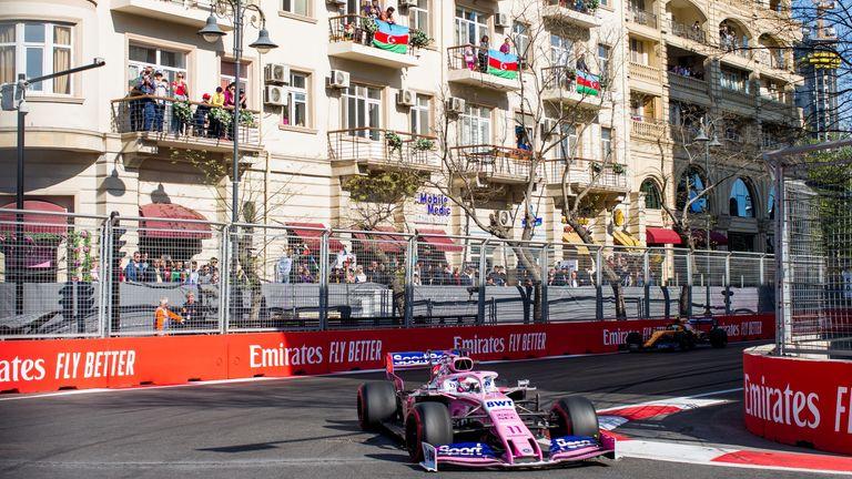 live stream F1 Azerbaijan Grand Prix online