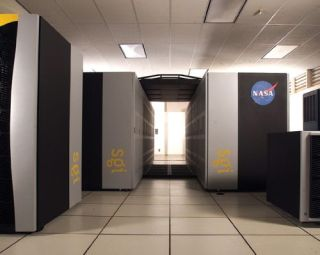 The 512-processor SGI Altix supercomputer, at NASA Ames Research Center, named 'Kalpana' after Columbia astronaut and Ames alumna Kalpana Chawla, is being used to develop substantially more capable simulation models to better assess the evolution and behavior of the Earth's climate system.