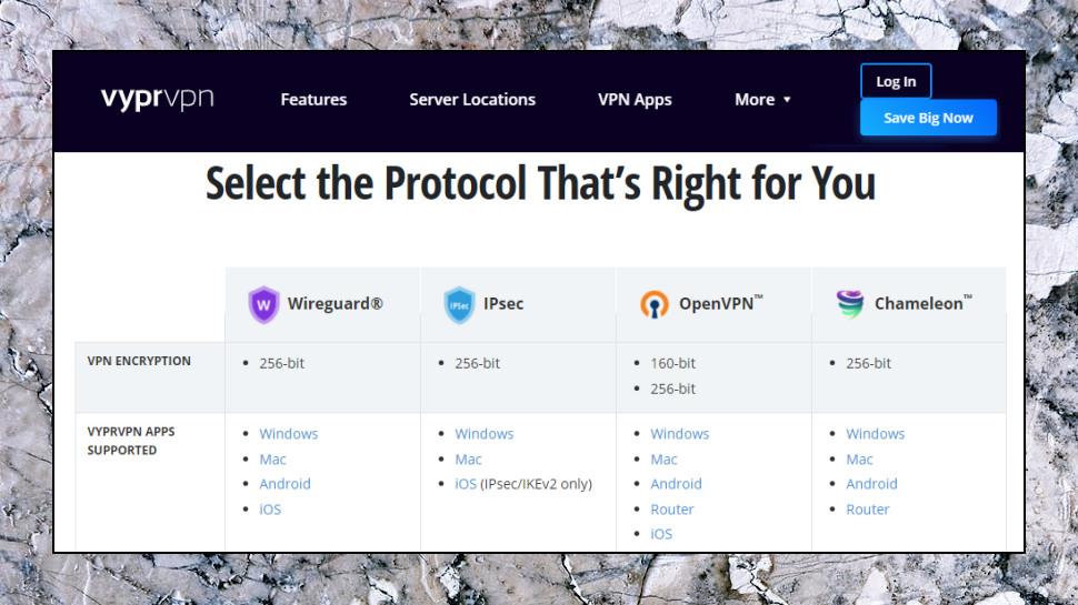 VyprVPN Protocols