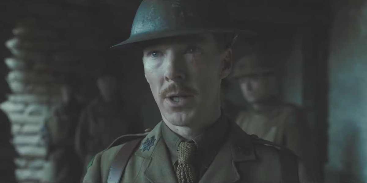 Benedict Cumberbatch standing down in 1917